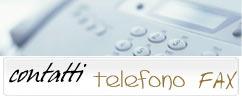 telefono e fax